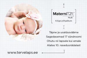 Loote kromosoomiuuring MaterniT21 PLUS