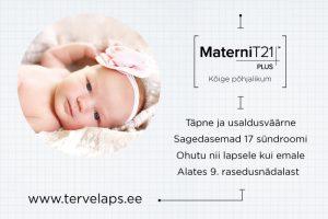 Loote kromosoomiuuring MaterniT PLUS